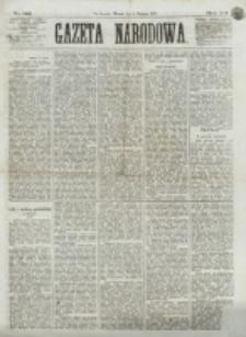 Gazeta Narodowa. R. 12, nr 185 (5 sierpnia 1873)