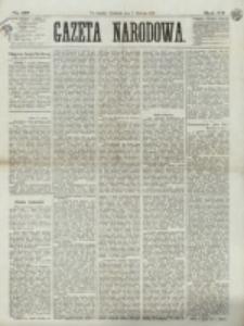 Gazeta Narodowa. R. 12, nr 187 (7 sierpnia 1873)
