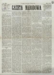 Gazeta Narodowa. R. 12, nr 189 (9 sierpnia 1873)