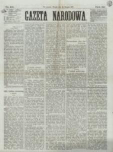 Gazeta Narodowa. R. 12, nr 191 (12 sierpnia 1873)