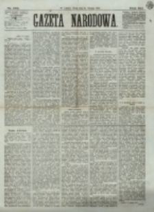 Gazeta Narodowa. R. 12, nr 192 (13 sierpnia 1873)