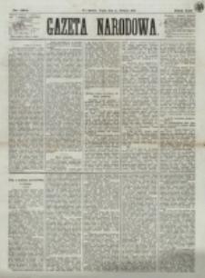 Gazeta Narodowa. R. 12, nr 194 (15 sierpnia 1873)