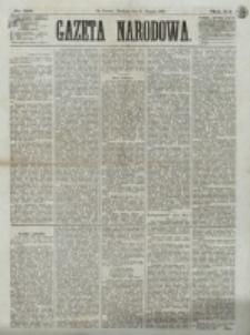 Gazeta Narodowa. R. 12, nr 195 (17 sierpnia 1873)