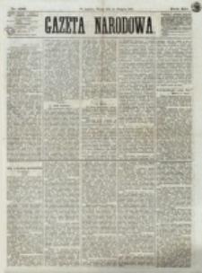 Gazeta Narodowa. R. 12, nr 196 (19 sierpnia 1873)