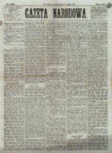 Gazeta Narodowa. R. 12, nr 198 (21 sierpnia 1873)