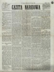 Gazeta Narodowa. R. 12, nr 200 (23 sierpnia 1873)