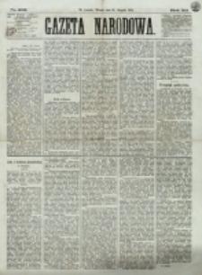 Gazeta Narodowa. R. 12, nr 202 (26 sierpnia 1873)