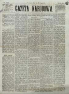 Gazeta Narodowa. R. 12, nr 203 (27 sierpnia 1873)