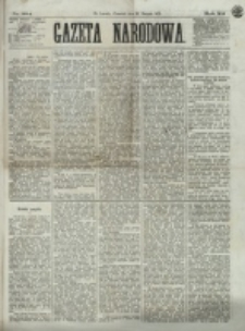 Gazeta Narodowa. R. 12, nr 204 (28 sierpnia 1873)