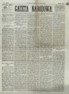 Gazeta Narodowa. R. 12, nr 205 (29 sierpnia 1873)