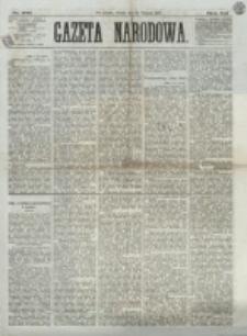 Gazeta Narodowa. R. 12, nr 206 (30 sierpnia 1873)