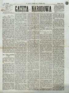Gazeta Narodowa. R. 12, nr 208 (2 września 1873)