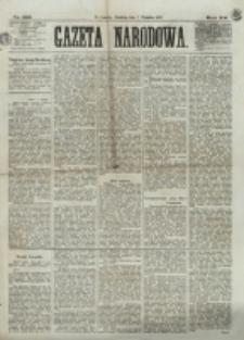 Gazeta Narodowa. R. 12, nr 213 (7 września 1873)