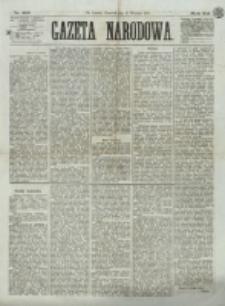 Gazeta Narodowa. R. 12, nr 215 (11 września 1873)