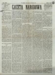 Gazeta Narodowa. R. 12, nr 216 (12 września 1873)