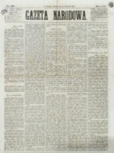 Gazeta Narodowa. R. 12, nr 217 (13 września 1873)