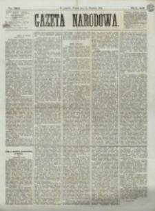 Gazeta Narodowa. R. 12, nr 219 (16 września 1873)