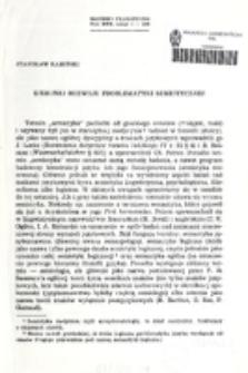 Kierunki rozwoju problematyki semiotycznej / Stanisław Kamiński.