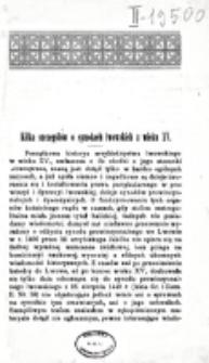 Kilka szczegółów o synodach lwowskich z wieku XV / Władysław Abraham.