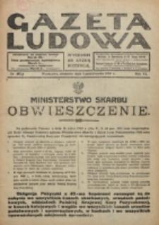 Gazeta Ludowa : wychodzi na każdą niedzielę. R. 6, nr 40 (1920)