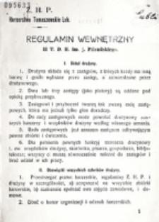 Regulamin węwnętrzny II T. D. H. im. J. Piłsudskiego.