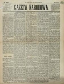 Gazeta Narodowa. R. 12, nr 282 (28 listopada 1873)