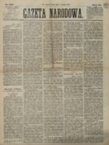 Gazeta Narodowa. R. 12, nr 286 (3 grudnia 1873)