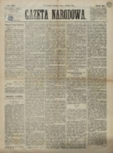 Gazeta Narodowa. R. 12, nr 287 (4 grudnia 1873)