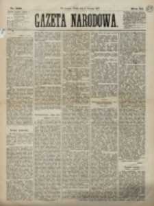 Gazeta Narodowa. R. 12, nr 288 (5 grudnia 1873)