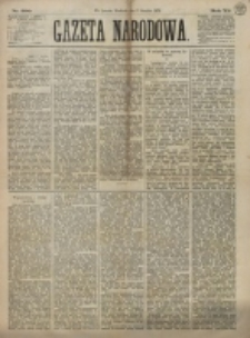 Gazeta Narodowa. R. 12, nr 290 (7 grudnia 1873)