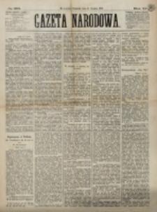 Gazeta Narodowa. R. 12, nr 292 (11 grudnia 1873)