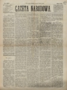 Gazeta Narodowa. R. 12, nr 295 (14 grudnia 1873)