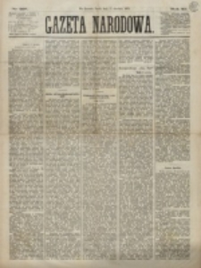 Gazeta Narodowa. R. 12, nr 297 (17 grudnia 1873)
