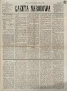 Gazeta Narodowa. R. 12 , nr 301 (21 grudnia 1873)