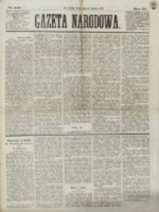 Gazeta Narodowa. R. 12, nr 303 (24 grudnia 1873)