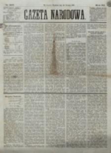 Gazeta Narodowa. R. 12, nr 305 (28 grudnia 1873)