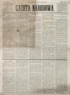 Gazeta Narodowa. R. 12, nr 307 (31 grudnia 1873)