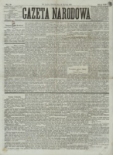Gazeta Narodowa. R. 15 (1876), nr 9 (13 stycznia)