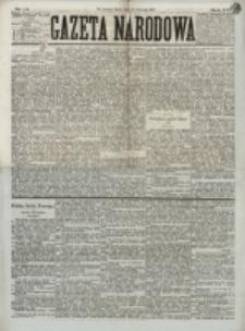 Gazeta Narodowa. R. 13 (1874), nr 14 (19 stycznia)