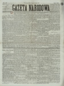 Gazeta Narodowa. R. 15 (1876), nr 16 (21 stycznia)