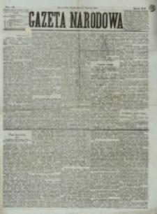 Gazeta Narodowa. R. 15 (1876), nr 17 (22 stycznia)