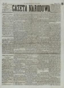 Gazeta Narodowa. R. 15 (1876), nr 22 (28 stycznia)