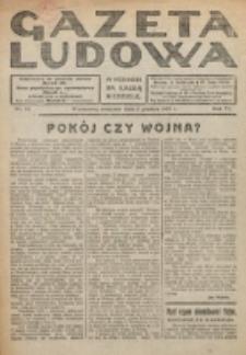 Gazeta Ludowa : wychodzi na każdą niedzielę. R. 6, nr 49 (1920)