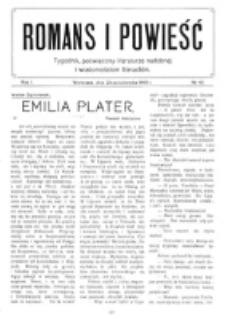 Romans i Powieść. R. 1, nr 43 (23 października 1909)