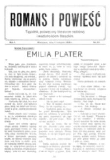 Romans i Powieść. R. 1, nr 34 (21 sierpnia 1909)