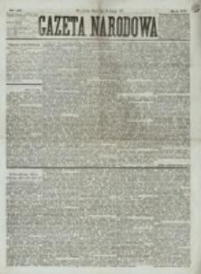 Gazeta Narodowa. R. 15 (1876), nr 45 (25 lutego)