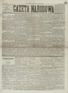 Gazeta Narodowa. R. 15 (1876), nr 86 (14 kwietnia)