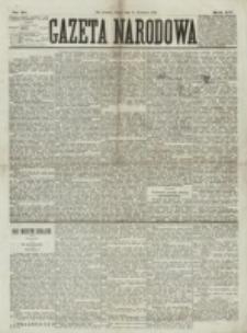 Gazeta Narodowa. R. 15 (1876), nr 91 (21 kwietnia)