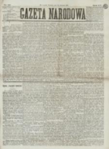Gazeta Narodowa. R. 15 (1876), nr 99 (30 kwietnia)