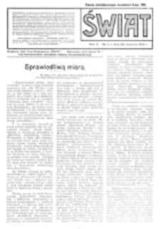 Świat : pismo tygodniowe ilustrowane poświęcone życiu społecznemu, literaturze i sztuce. R. 10 (1915), nr 4 (23 stycznia)